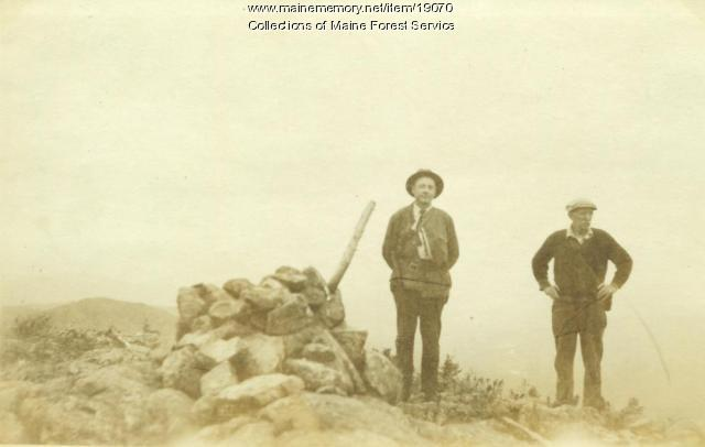 J. Mitchell, T. Griffin, Lunksoos Mountain, ca. 1920
