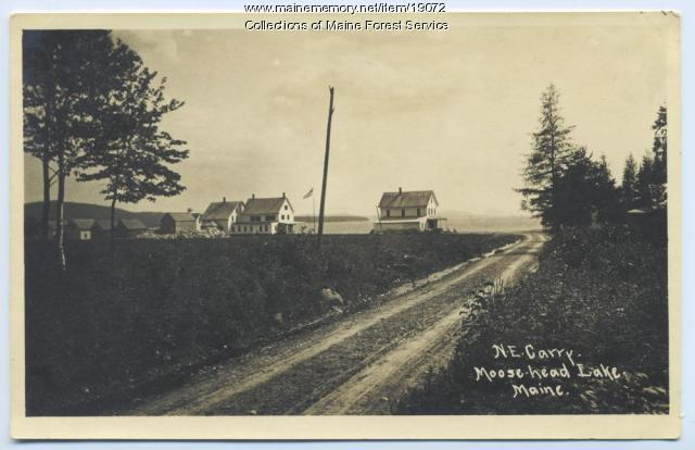 Northeast Carry, Moosehead Lake, ca. 1920