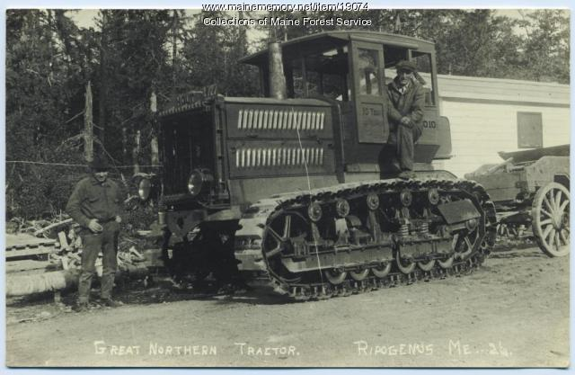 Great Northern tractor, ca. 1920