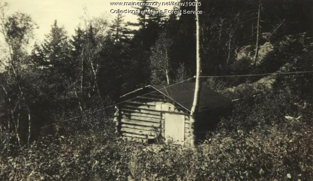 Mt. Chase Forest Department Camp, ca. 1920