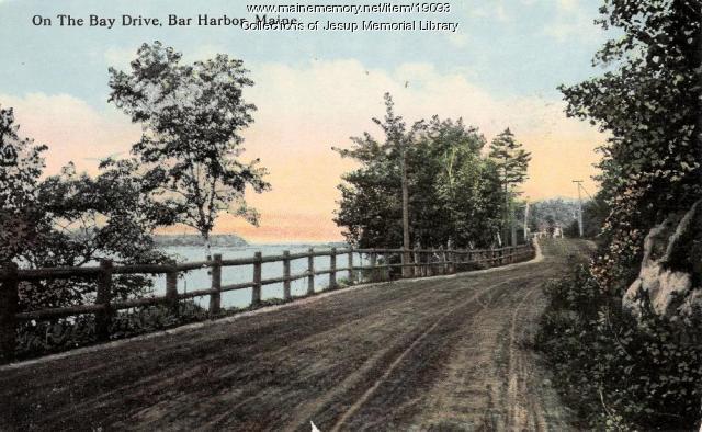 Bay Drive in Bar Harbor
