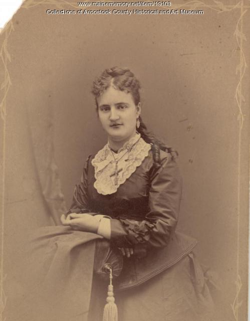 Alice Bradford Lane, Houlton, c. 1890