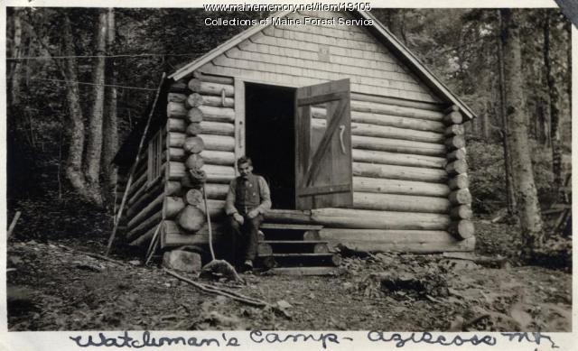 Watchman's camp, Azicoos Mountain, Lincoln, ca. 1929