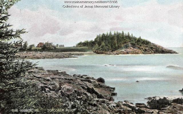 Schooner Head, ca. 1911