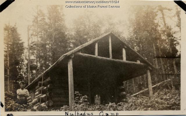 Forest Service camp, Nulhedus, ca. 1920