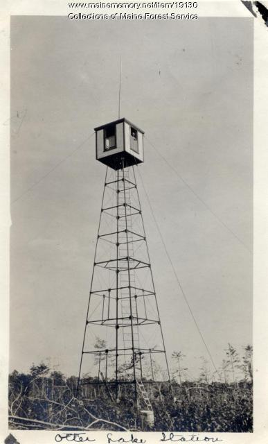 Otter Lake fire lookout station, 1920