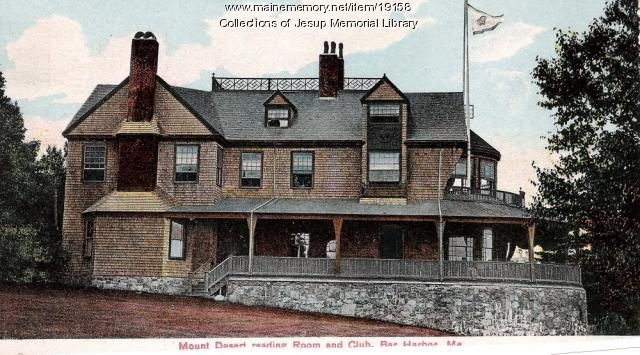 Mount Desert Reading Room