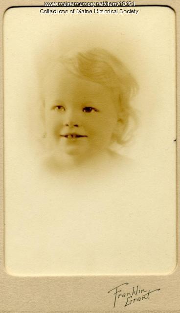 Elizabeth F. Ek, Portland, 1933