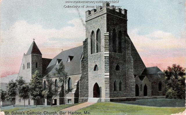 St. Sylvia's Catholic Church, Bar Harbor, ca. 1900