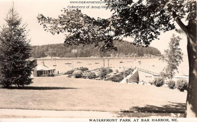 Waterfront Park in Bar Harbor