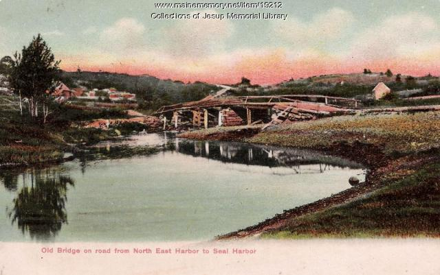 Road to Seal Harbor