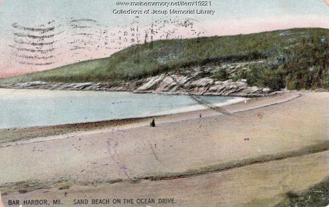 Sand Beach on Ocean Drive