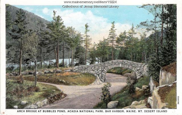 Arch Bridge at Bubble Pond
