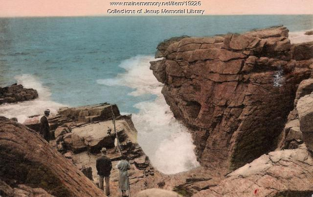 Thunder Hole, Acadia National Park, ca. 1920