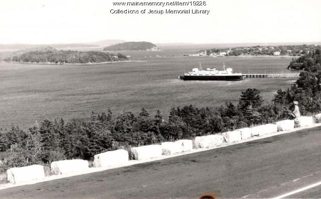 M. V. Bluenose Ferry, Bar Harbor, ca. 1960