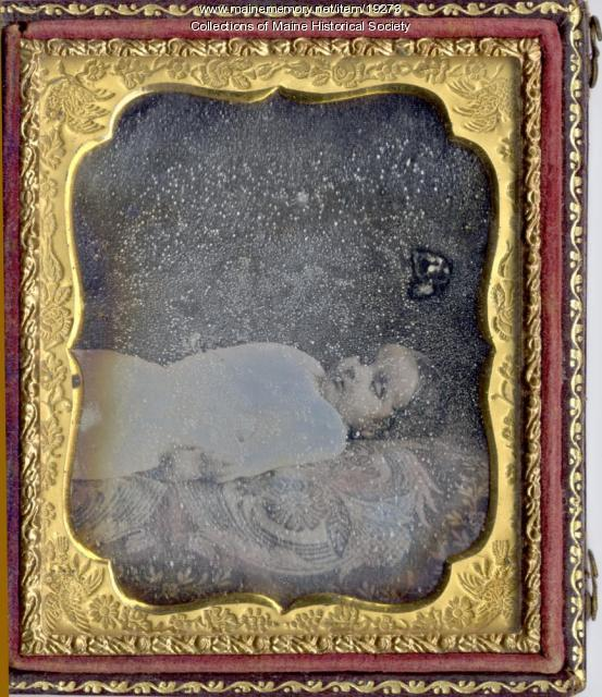 Deceased child, ca. 1855