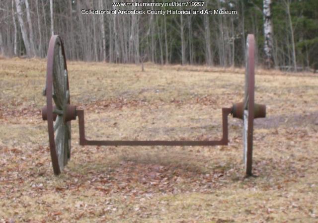 Crank axle, ca. 1900