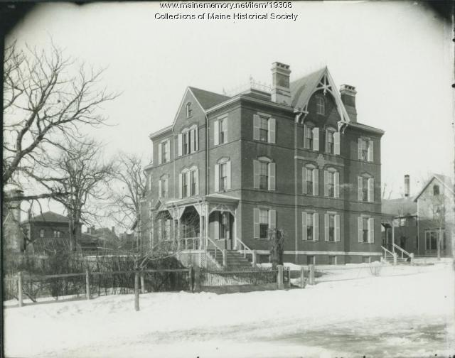 Home for Aged Women, Portland, ca. 1900