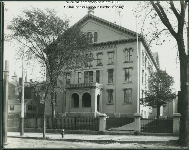 Portland High School, ca. 1900