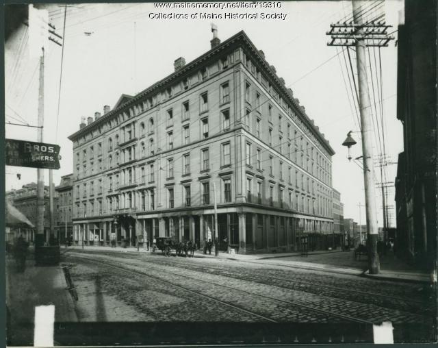 Falmouth Hotel Portland Ca 1900