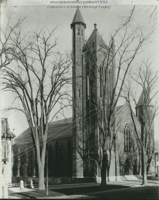 State Street Church, Portland, ca. 1900