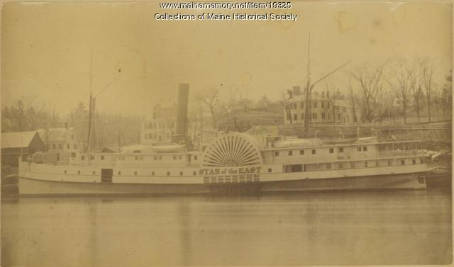 'Star of the East' ferry, Gardiner, ca. 1870