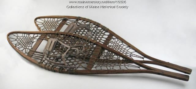 Hilda C. Ek's snowshoes, ca. 1920