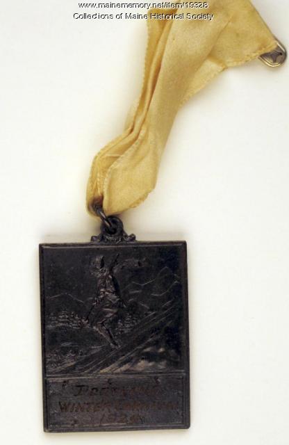 Portland Winter Carnival medal, 1924