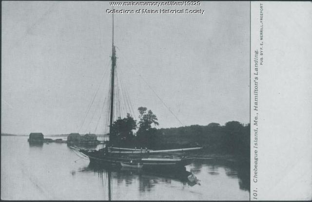 Hamilton Landing, Chebeague Island, ca. 1910