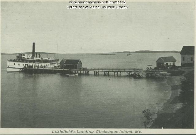 Littlefield's Landing, Chebeague Island, ca. 1920