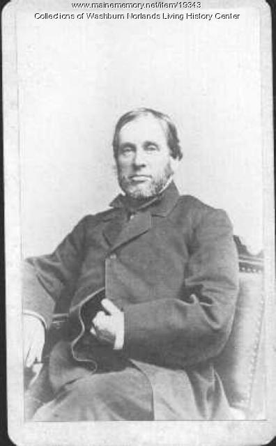 Algernon Sidney Washburn, Hallowell, ca. 1870