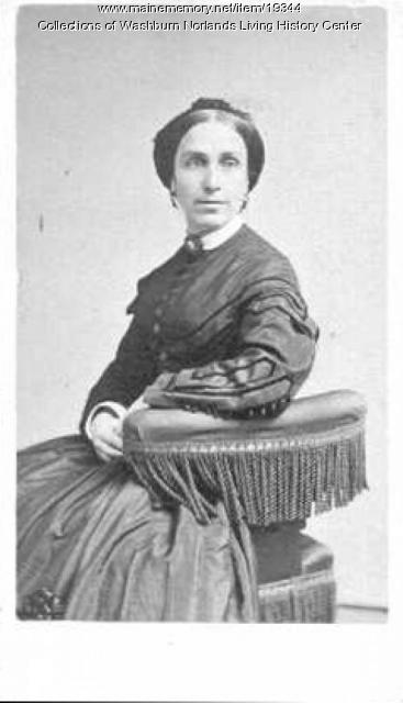 Martha Benjamin Washburn Stephenson, Livermore, ca. 1860