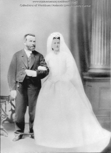 Charles Ames Washburn and Sallie Cleaveland, 1865