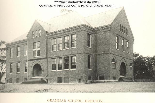 Houlton Grammar School, ca. 1895
