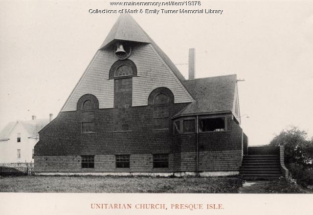 Unitarian Church, Presque Isle, 1895
