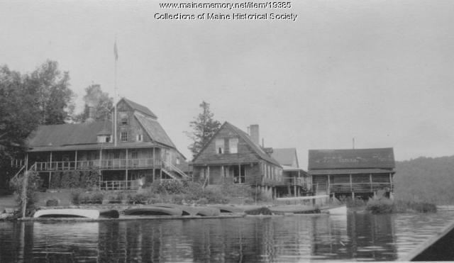 Parmachenee Club, Parmachenee Lake, ca. 1940