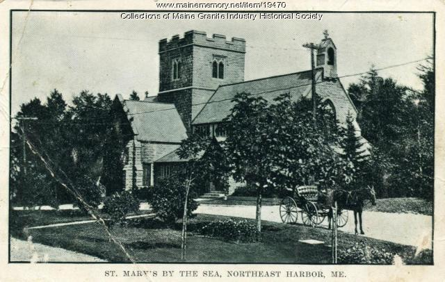 St. Mary's By the Sea Church, Northeast Harbor, 1909