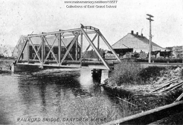 Danforth Railroad Bridge, 1907