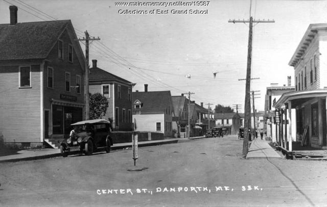 Center street, Danforth, ca. 1933