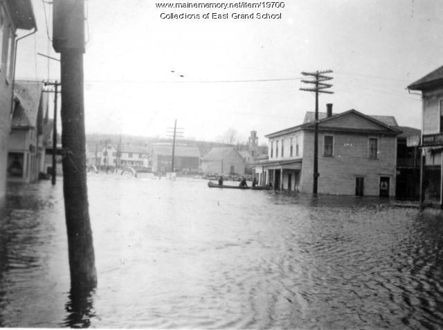 Flood in Danforth, 1923