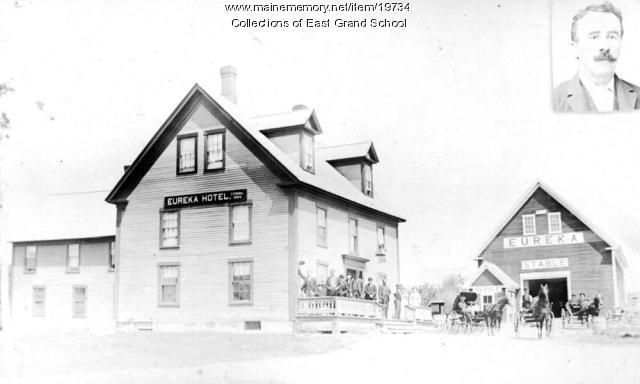 Eureka Hotel, Danforth, ca. 1911