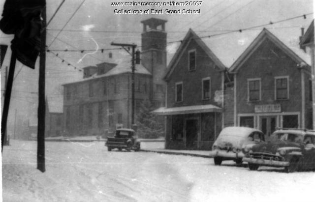 Town Hall, Danforth, ca. 1950