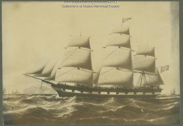 Ship William Witherle, Castine, 1851