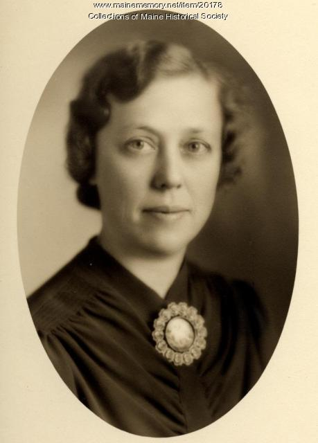 Hilda Christine Ek, Portland, ca. 1945