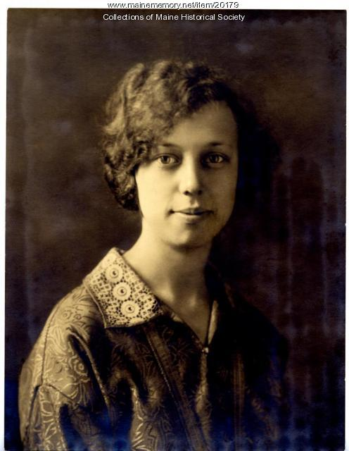 Hilda Christine Ek, ca. 1930