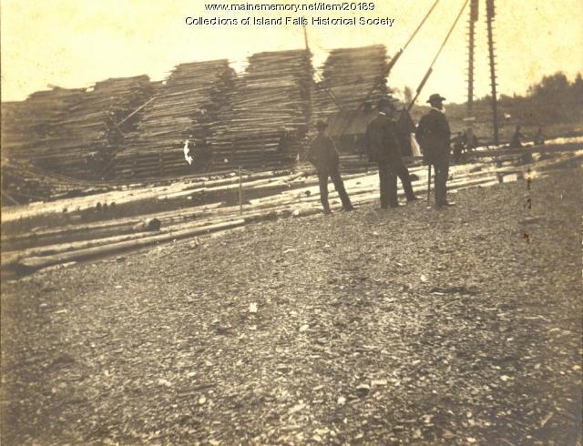 Emerson Lumber Company, Island Falls, ca. 1905