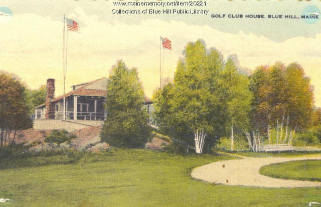 Golf Club House, Blue Hill, ca. 1920