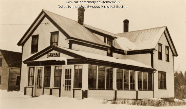 New Sweden Post Office, ca. 1938