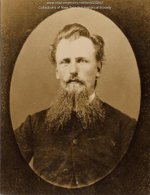 Rev. Andrew Wiren, New Sweden, ca. 1890