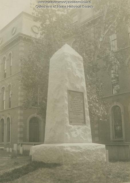 Revolutionary War monument, Portland, ca. 1915